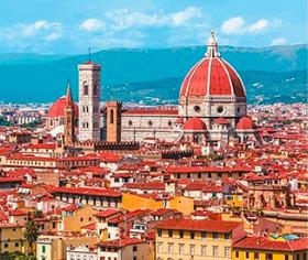 画像:フィレンツェ(イタリア) 世界の名勝(フィルムカレンダー・小) 2019年カレンダー