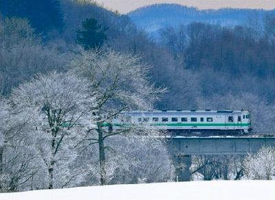 画像:石北本線 ローカル線紀行 2019年カレンダー