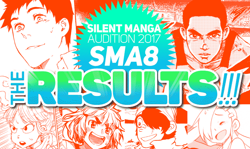 SILENT MANGA AUDITION8 RESULTS