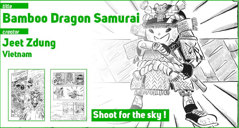 Bamboo Dragon Samurai