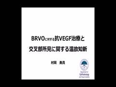 BRVOに対する抗VEGF治療と交叉部所見に関する温故知新
