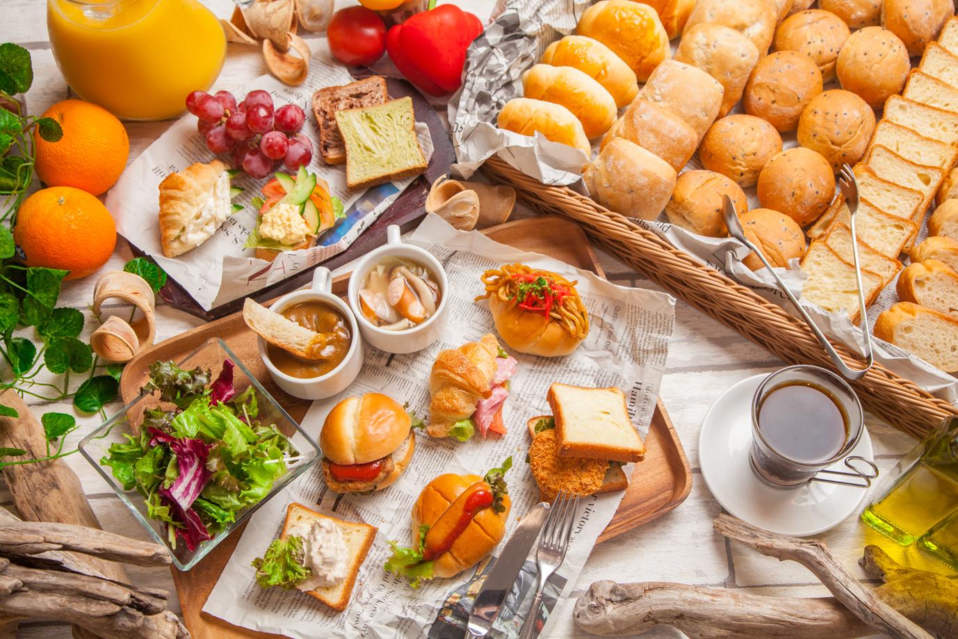 14種類のパンが食べ放題!銀座バグースプレイス『ブレッドフェア』開催!