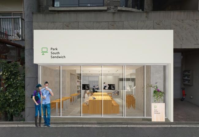 9月17日(日)『Park South Sandwich 』が広島の中心、袋町公園沿いにオープン!