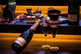 New Year's season限定~シャンパンのマリアージュが6,666円で愉しめる『PUB×CHAMPAGNE フリーフロープラン』を六本木・赤坂で開催!