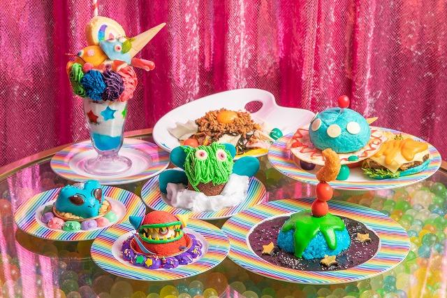 今年の夏休みは宇宙×KAWAII!?キモ可愛いメニューがズラリ!「KAWAII MONSTER CAFE 3周年記念フェア」開催