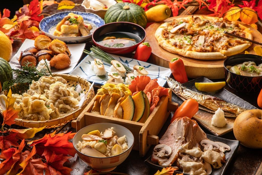 【食べ放題!】新鮮変り種野菜&松茸たっぷりの創作料理&秋スイーツ…実りの秋を味わい尽くす「松茸と秋の味覚フェア」上野のビュッフェレストラン『大地の贈り物』で開催!