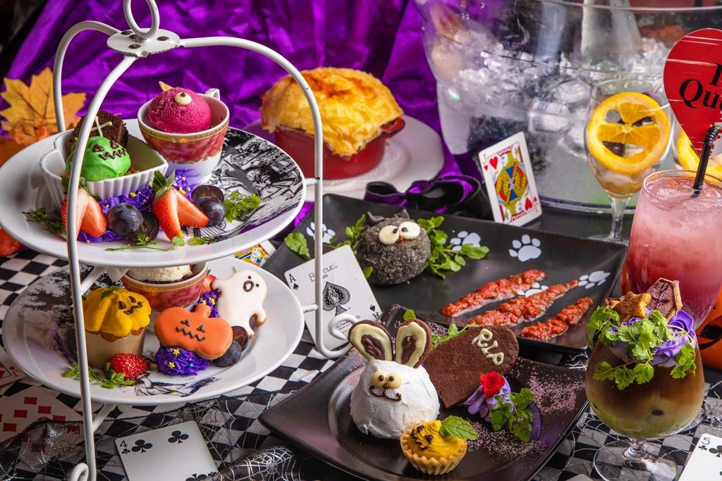 栗、かぼちゃ、さつまいも…秋の恵みがモンスターに!?「ハチャメチャ★アリスのハロウィンパーティ」予約受付中!