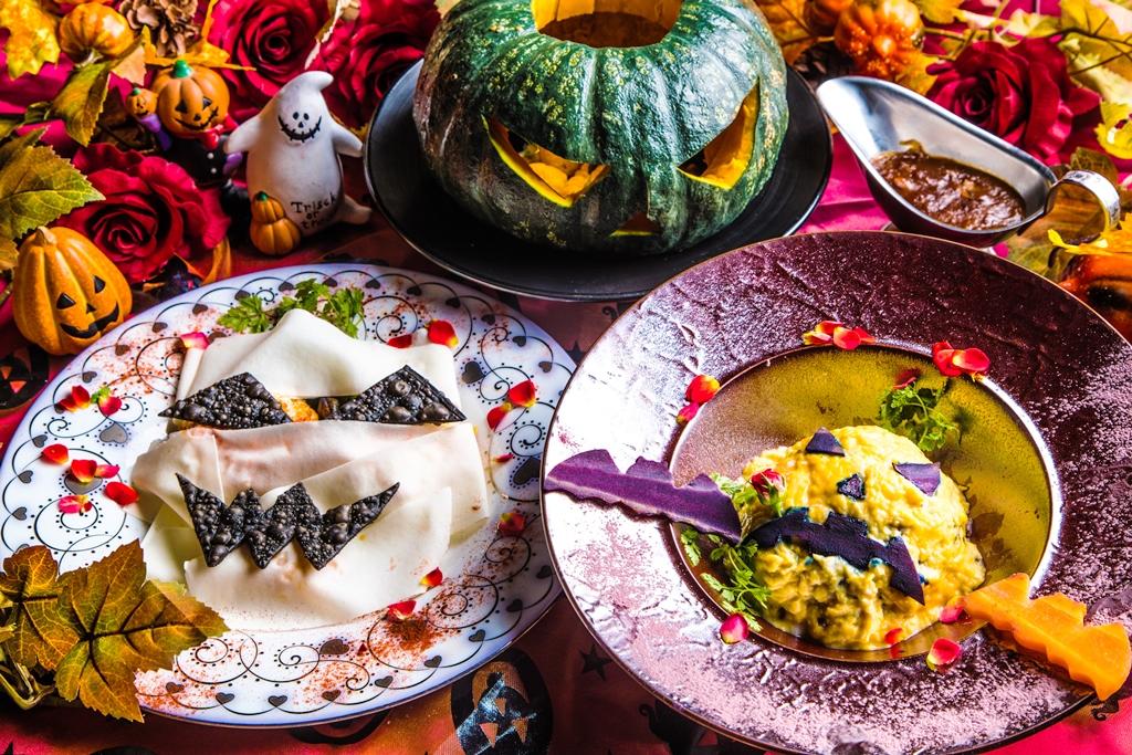 #ヴァンパイアカフェ 銀座美食―Bloody Halloween Ver.―ドラキュラ城のブラッディハロウィンとW展開