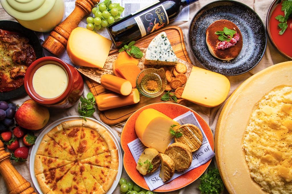 ≪チーズ料理食べ放題≫チーズで始まりチーズで終わる…濃厚チーズ好き必見のグルメフェア『濃厚チーズフェア』上野の自然食レストラン『大地の贈り物』にて開催!