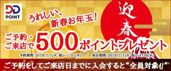 DDポイント会員様限定のお年玉プレゼント!