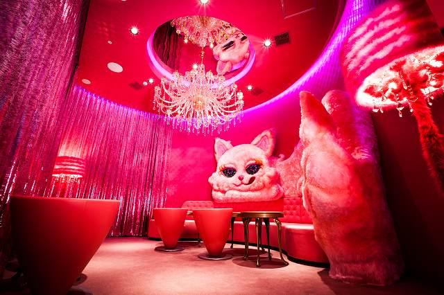 1日1組限定!Secret Room【ピンクキャットルーム】で『お子様バースデー・パーティープラン』はいかが?