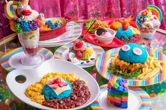 """「平成」から「令和」へ続くスペシャルウィーク到来!""""虹色Rainbow(架け橋)""""をテーマに、ファミリーで楽しむGW限定メニューが登場!【KAWAII MONSTER CAFE】"""
