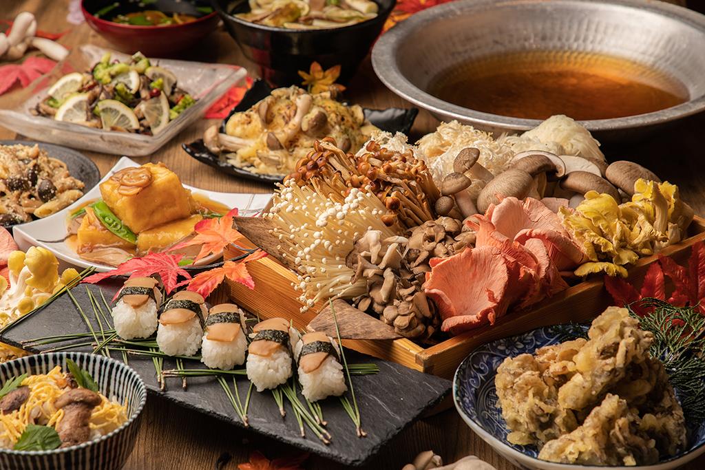 《秋の味覚》松茸&味キノコ食べ放題フェア ~ビュッフェレストラン『大地の贈り物』にて開催~