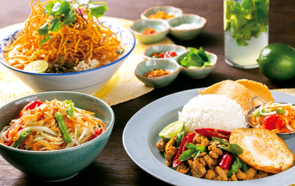 【大阪初出店】タイ、ヴェトナム、シンガポール…各国の「ごはん」を新設フードコートで堪能!「Rice people,Nice People!」9月13日(金)あべのHoopにオープン!