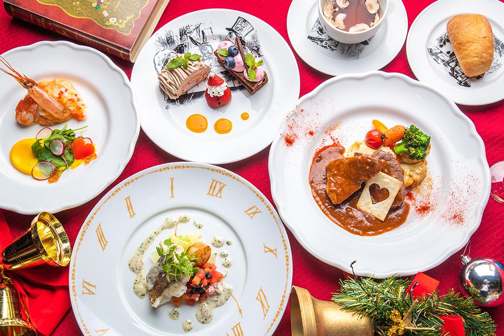 不思議の国のクリスマス&ニューイヤーズイブパーティはアレンジ自由自在♪アリスのファンタジーレストラン「アリスのウィンターパーティ」開催!