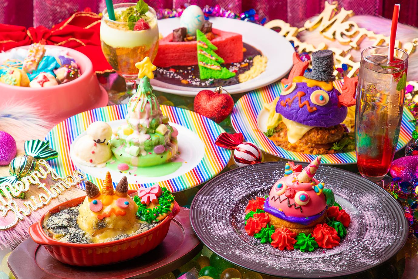 """""""萌え色スイーツ""""満載のクリスマスメニューが登場!KAWAII MONSTER CAFEが贈る「令和初」のクリスマスフェア開催!"""
