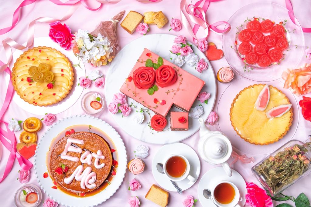 古城の国のティーパーティ~紅茶とバラのスイーツビュッフェ~ ファンタジーレストラン『古城の国のアリス』で開催!