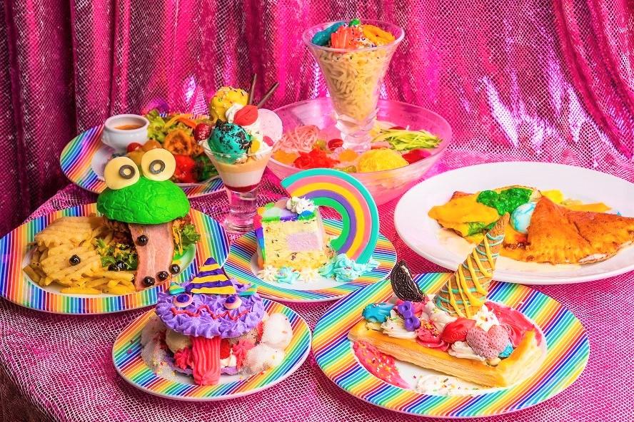 密にならない濃密時間!? 5周年記念あり、新作フード&スイーツあり、夏祭りあり、コラボありの超濃密な「KAWAII MONSTER CAFE」夏限定ランチ!