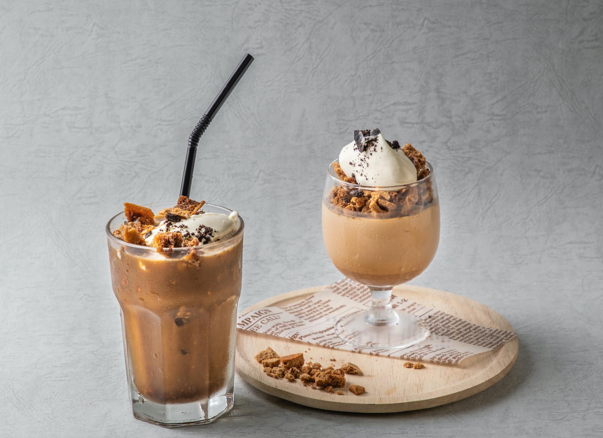 SNSで大人気の【ダルゴナコーヒー】がカフェメニューに!最新トレンドスイーツが瓦カフェ9店舗で2020年9月10日からスタート