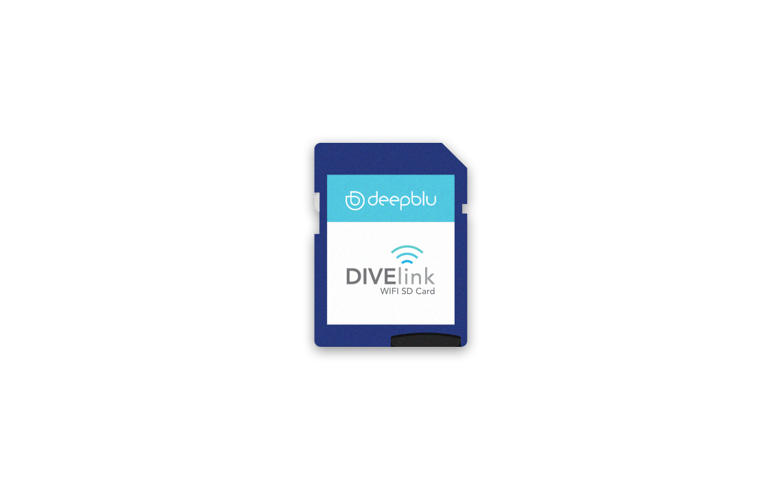 DIVElink Wi-Fi SD Card-Blue