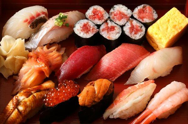 パスタとお寿司セット 写真2