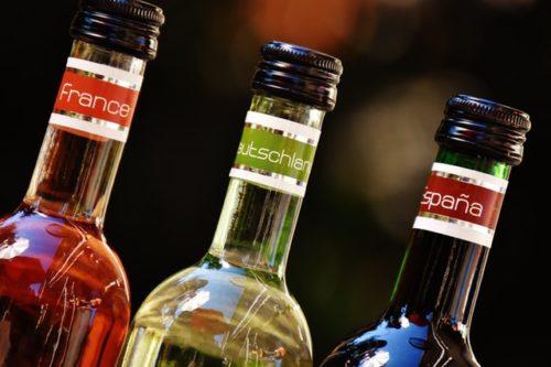 瓶のお酒の画像