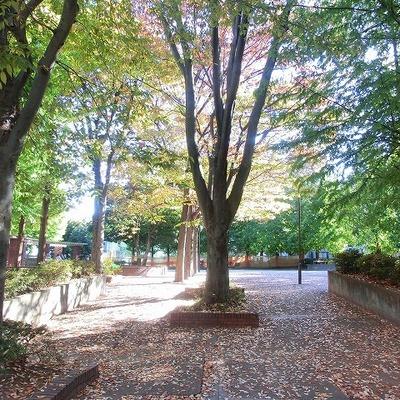 建物前は公園。環境は素晴らしいです