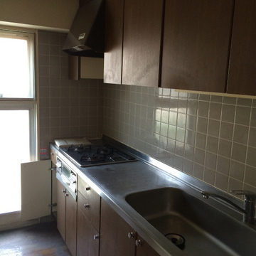 既存のキッチンですが、かなり立派です!!