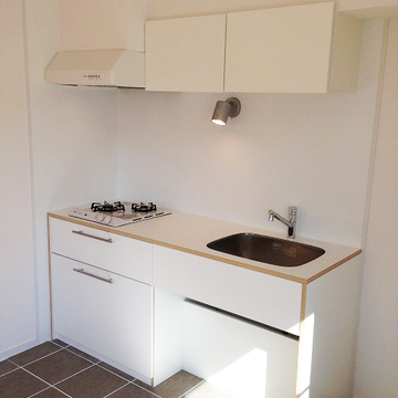 キッチンタイルで可愛く♪※写真はイメージ。キッチンは既存のものを仕様します