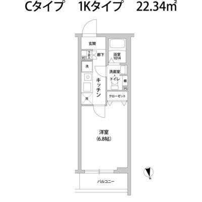 コンポジット宮前平の間取り図