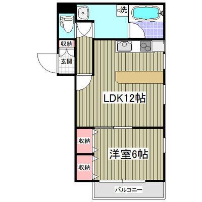 リュミエ新所沢Ⅱ 旧第二メゾン所沢の間取り