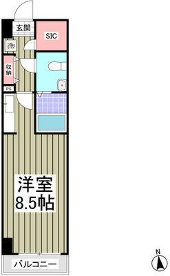 ドミール所沢Ⅴ 旧くすの木台柳下マンションⅢの間取り