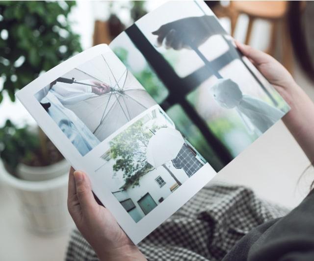 フォトブック販売サイト株式会社しまうまプリントのイメージ画像