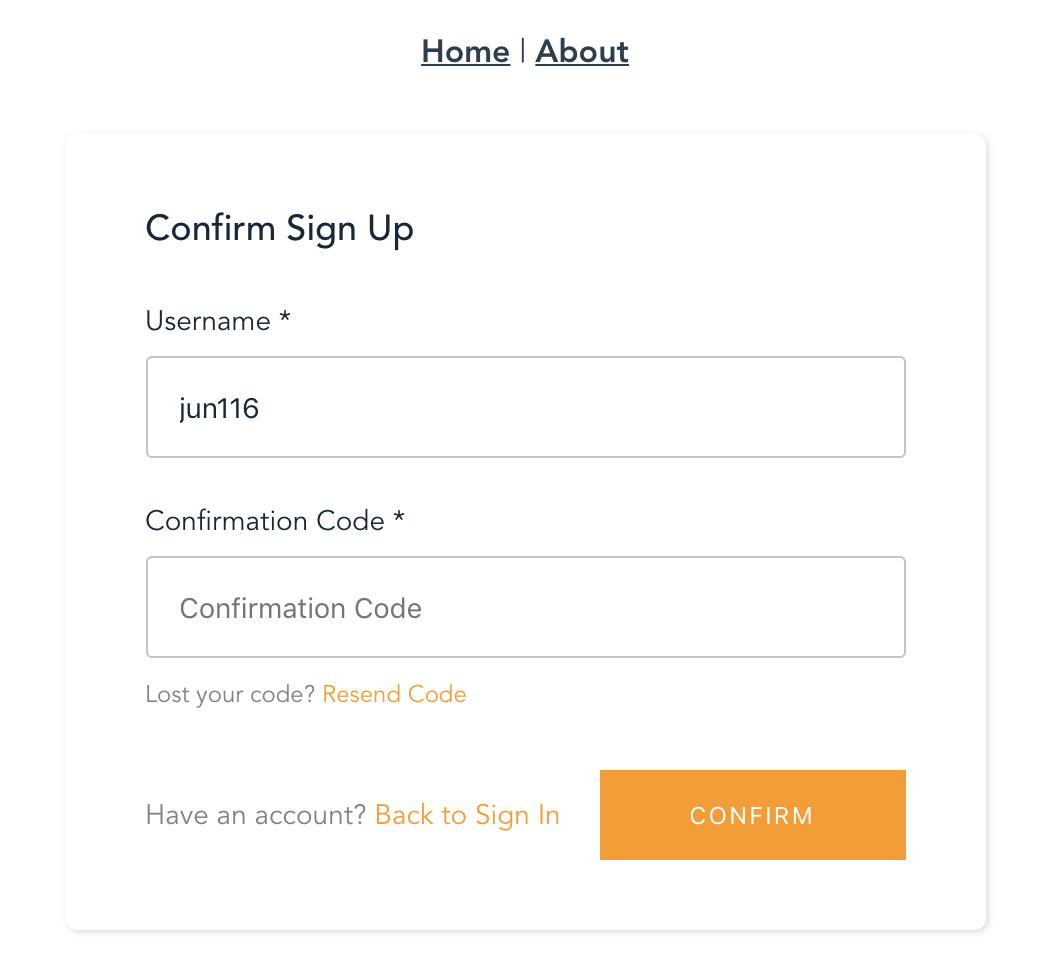 AWS Amplify を利用して最速で会員登録をつくる | DevTab - 成長