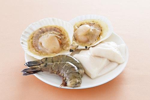 【要予約】魚介セット(エビ・ホタテ・イカ)