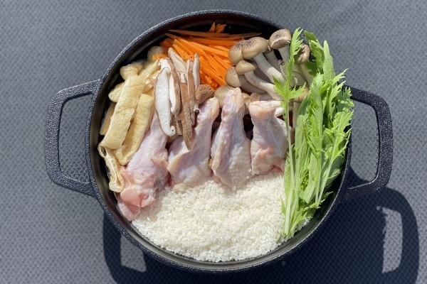 【要予約】備中高原鶏と泉州野菜のとりめし