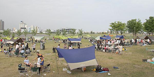 バーベキュー場イメージ写真