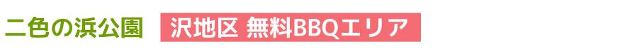 二色の浜沢地区BBQサービス