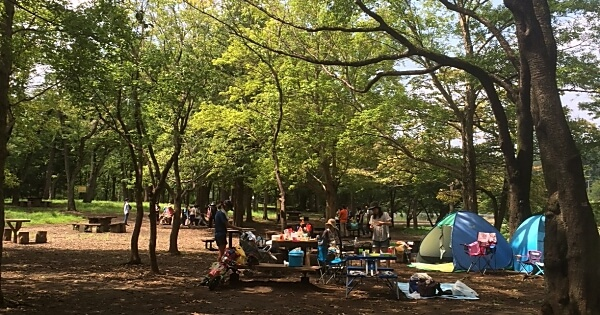 武蔵野公園バーベキュー広場 BBQデリバリーサービス