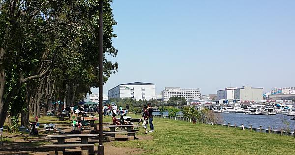 都立夢の島公園バーベキュー広場(BBQデリバリーサービス)