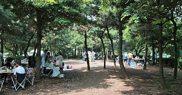 都立潮風公園バーベキュー広場(BBQデリバリーサービス)