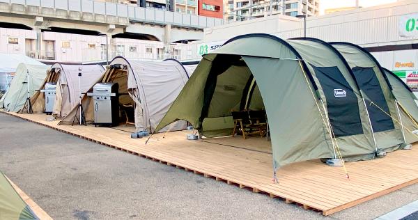 THE BBQ BEACH デジキュー大井町店 デイキャンプゾーン -スポル(SPORU)品川大井町