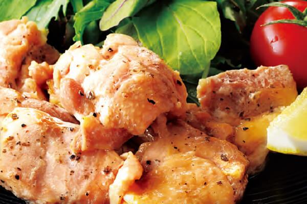 鶏モモバジルソテー焼