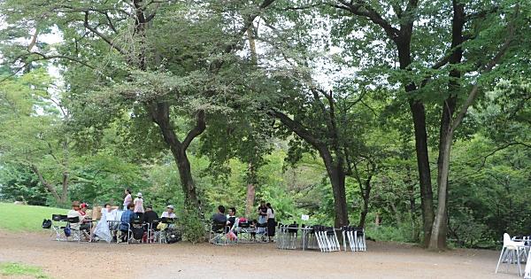 狭山稲荷山公園バーベキューガーデン