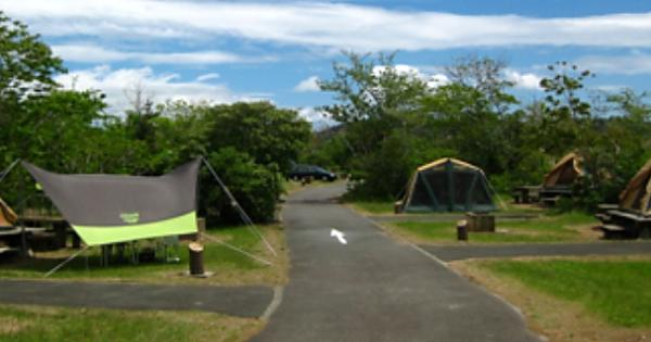 休暇村伊良湖オートキャンプ場