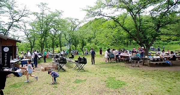 国営武蔵丘陵森林公園 野外炊飯広場