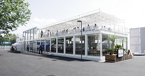 THE BBQ BEACH in スポル品川大井町 ラグジュアリーゾーン