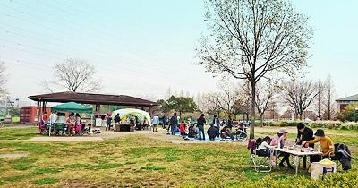 戸田川緑地ピクニック広場 バーベキューサービス