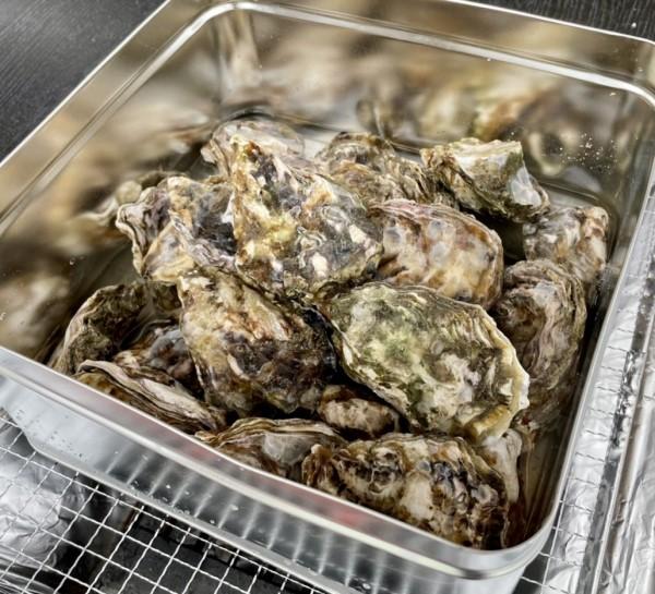 【当日販売】牡蠣のガンガン焼き