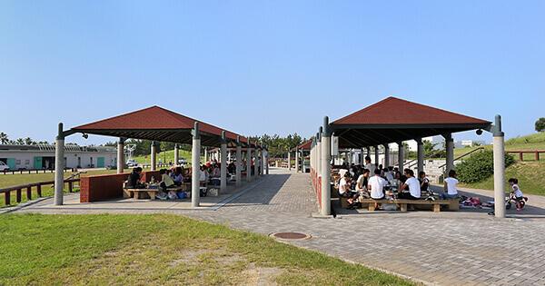 二色の浜公園 海浜緑地 有料バーベキュー施設(野外炉)
